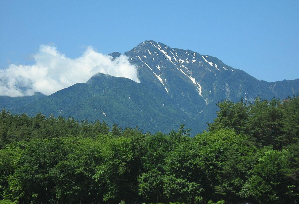 甲斐駒ヶ岳・日向山(山梨県北杜市)の地図 | YAMAP あたらしい山を ...