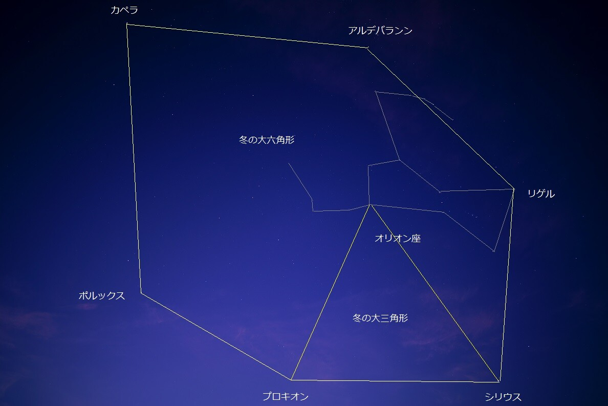 三角形 大 冬 の