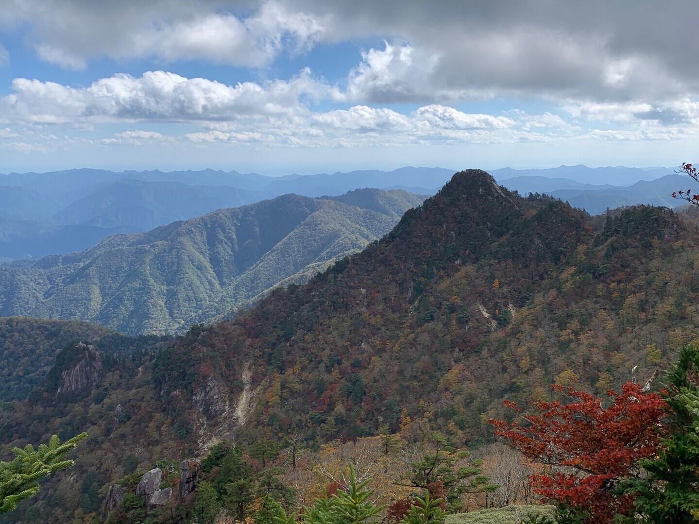 大日岳(奈良県吉野郡下北山村)の写真