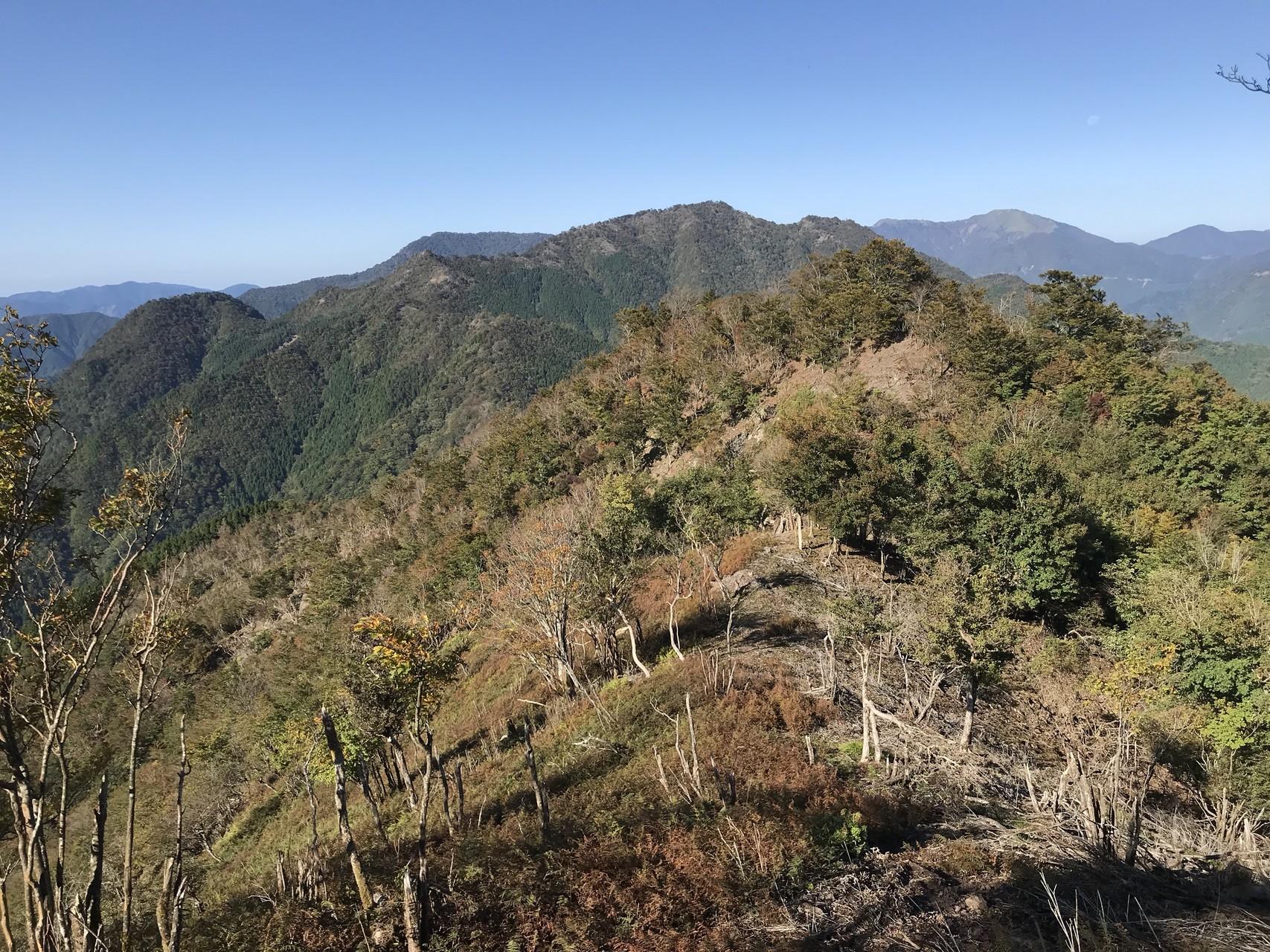 徳島県.青ノ塔~ぼたもち山~山...