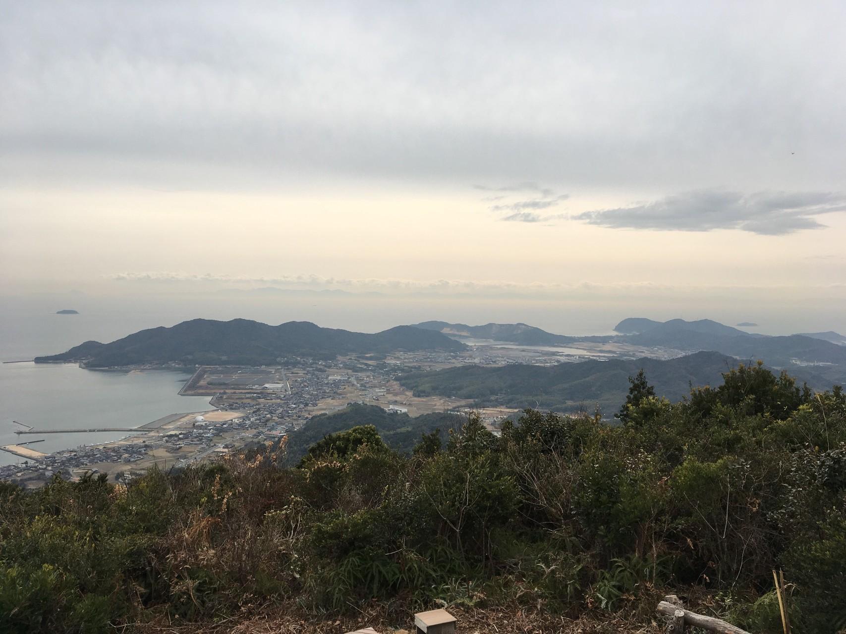 大海山へ新ルートで道の駅から登...