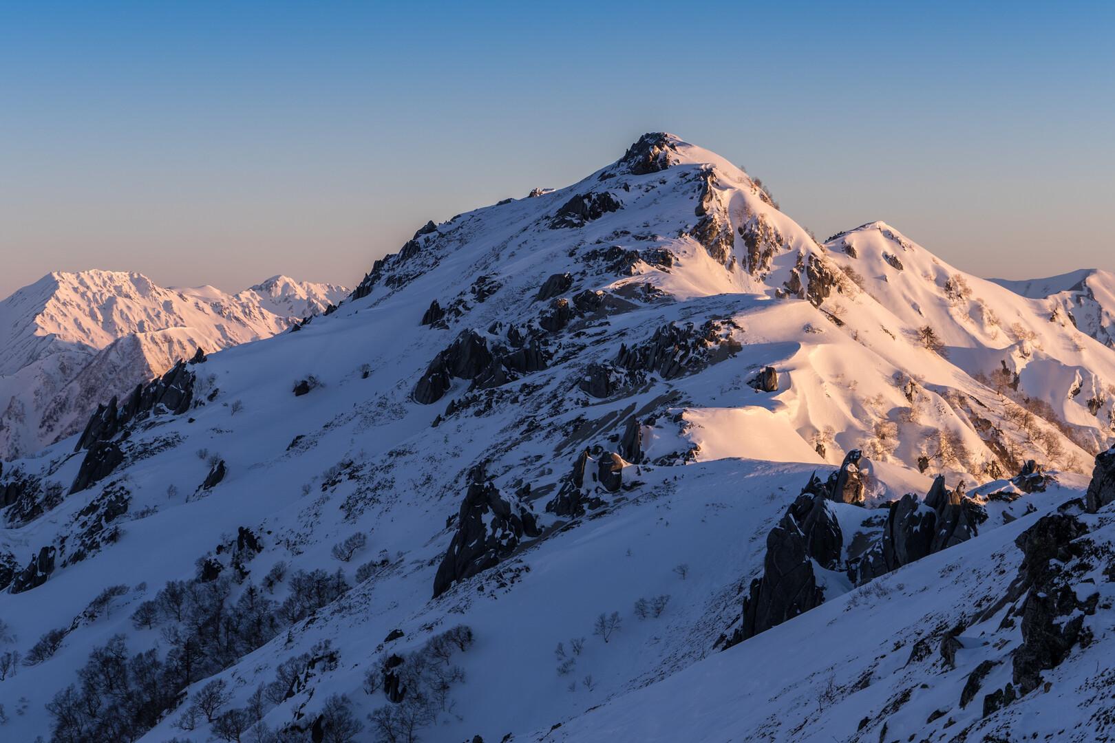 燕岳の写真