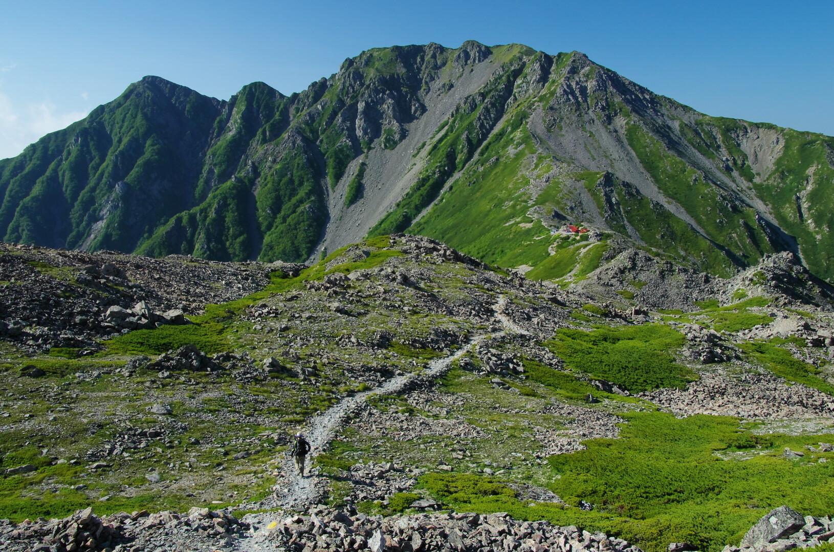 農鳥岳の写真