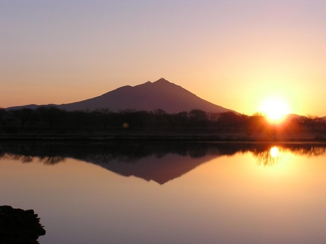 筑波山の写真