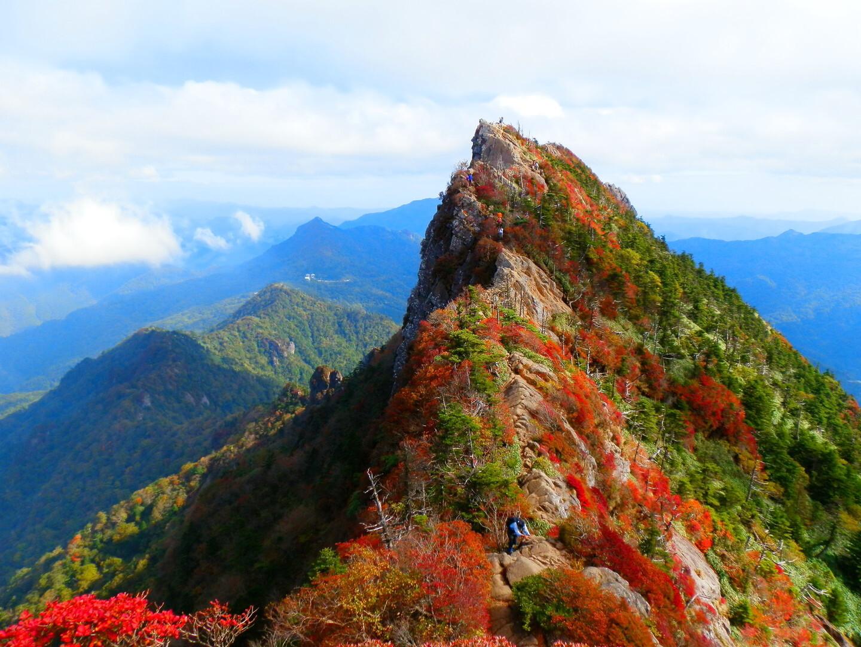 石鎚山の写真