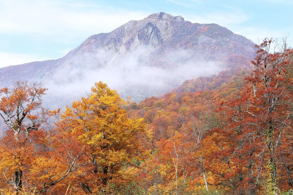 雨飾山の写真