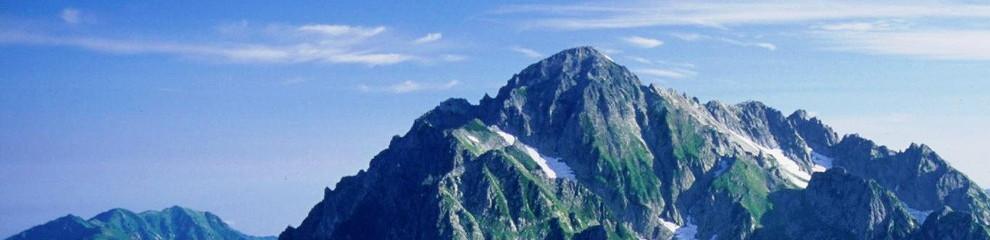北陸エリアで登山者に人気の山 BEST5!