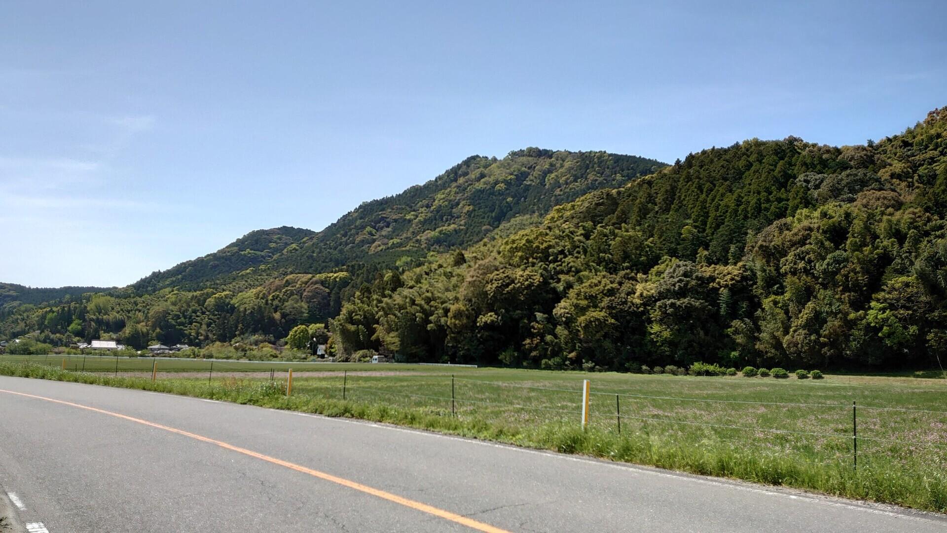 目配山の写真
