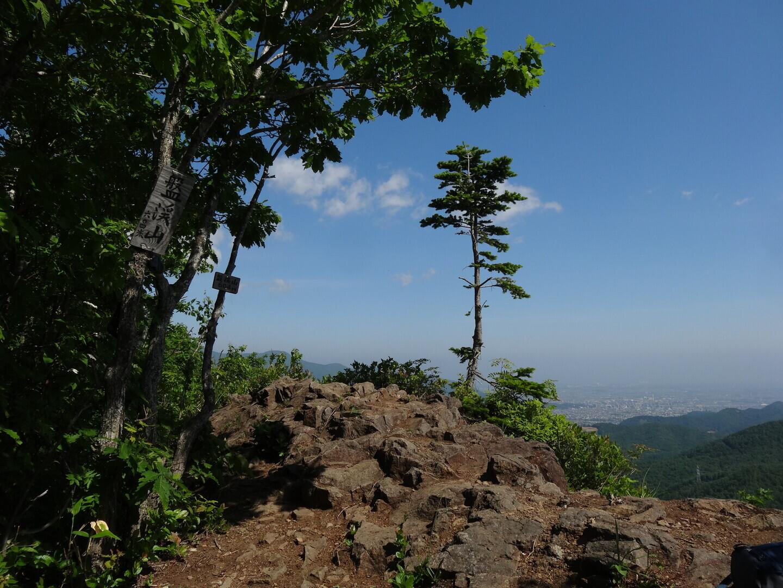 盤渓山の写真