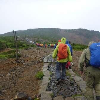 ffd1382445 蔵王 熊野岳:規制解除になった馬の背登山道   YAMAP / ヤマップ