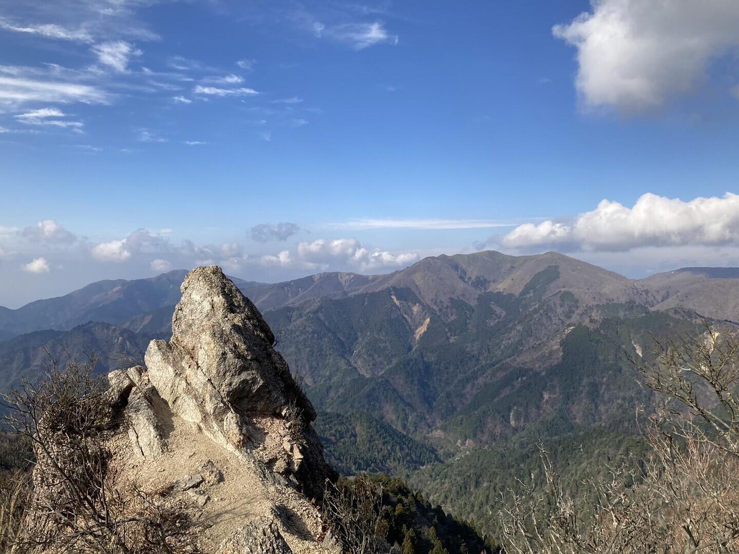 水沢岳(宮越山)登山ルートの写真