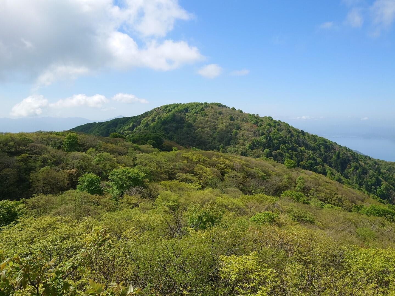 西方が岳の写真