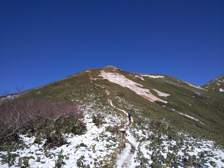 笠ヶ岳(群馬県利根郡みなかみ町湯桧曽)の写真