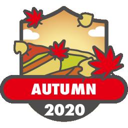 紅葉バッジ 2020