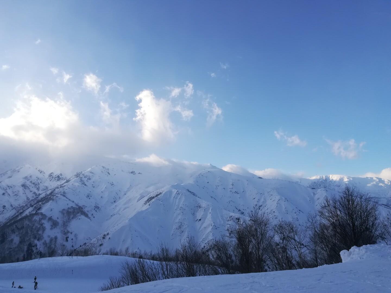 八方尾根 スキー 天気 白馬 場