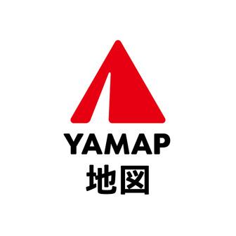 YAMAP地図
