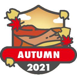 紅葉バッジ 2021